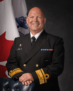 Speaker #1: Rear-Admiral Craig Baines, MSC, CD